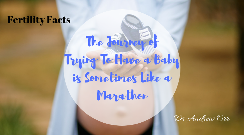 The Journey of Trying To Have a Baby is Sometimes Like a Marathon 1