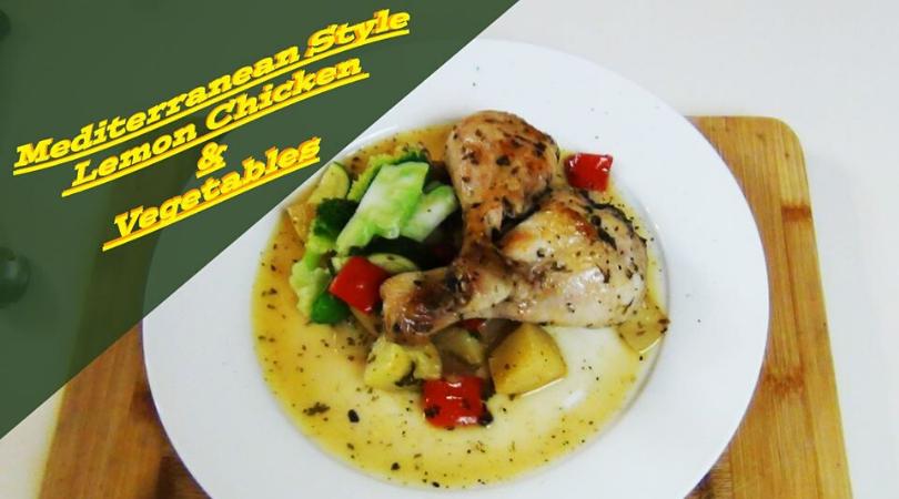 mediterranean style lemon chicken